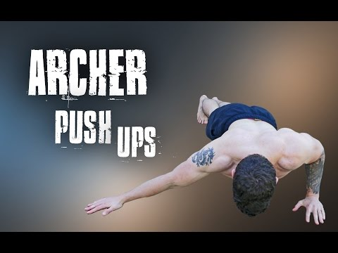 Archer Push Ups | Correct Form Tutorial