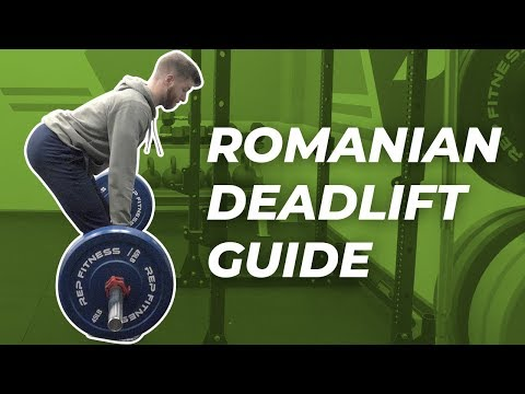 Romanian Deadlift Guide — Form, Muscles Worked, and Programming