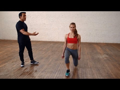 Bowflex® How-To   Lunges for Beginners