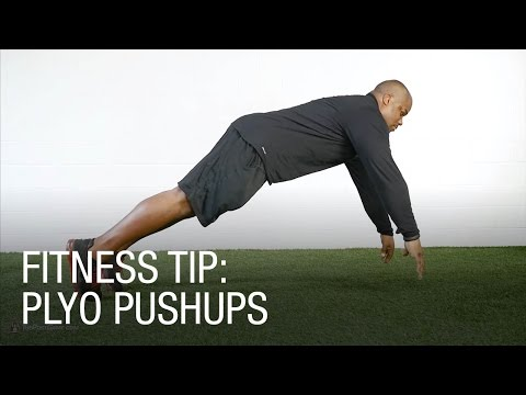 Fitness Tip: Plyo Pushup