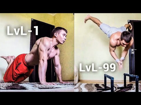 PUSH UPS from LvL 1 to LvL 100 (WHICH IS YOURS?)