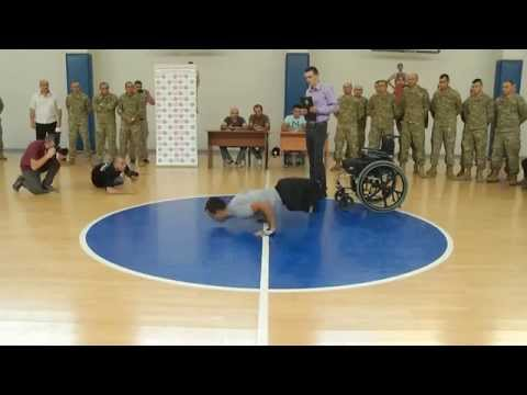 Double amputee soldier sets new world record